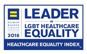 Healthcare Equality Index Award logo