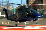 Med Flight helicopter landing
