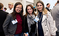 Group of three woman at ALPFA event