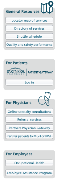 About Doctor Finder | Boston | MA | Partners HealthCare
