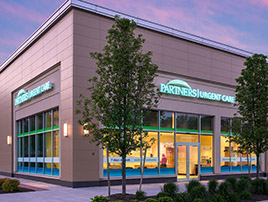 Partners HealthCare Urgent Care Newton building