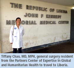 Dr. Tiffany Chao visiting Liberia