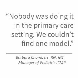 iCMP Quote from Barbara Chambers