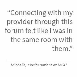 Telehealth Quote - Patient Michelle