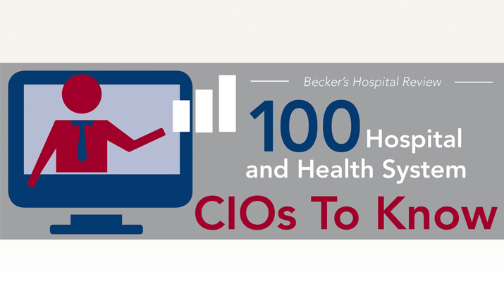 Jim Noga, CIO at Partners HealthCare, named to list of '100