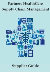 Vendor / Supplier Information | About | Partners HealthCare